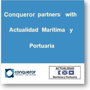 Conqueror establishes a media partnership with Actualidad Marítima y Portuaria