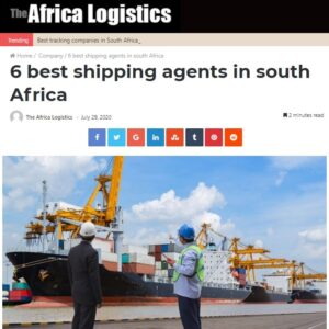 CQR Durban/Johannesburg ranks as one of the top shipping agents in South Africa