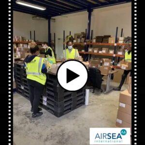 Airsea International starts operating three new warehouses
