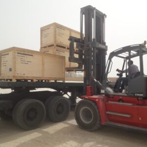 Conqueror Nouakchott moves 189 units of a project cargo shipment from UAE to Mauritania
